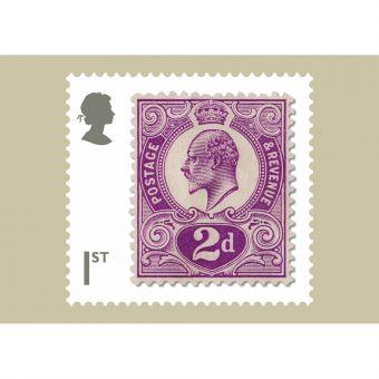 Stamp Classics Set of 7 Postcards