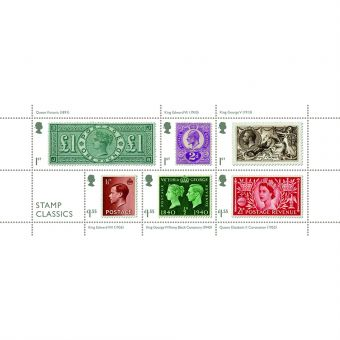 Stamp Classics Miniature Sheet