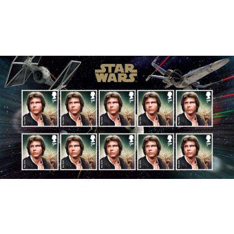 Royal Mail Star Wars 2015 Han Solo Stamp Set