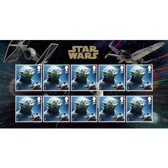 Royal Mail Star Wars 2015 Yoda Stamp Set