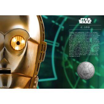 STAR WARS Medal Cover - C-3PO