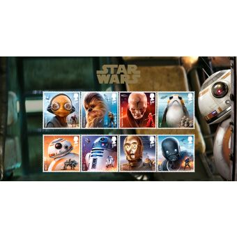 Royal Mail Star Wars Characters Stamp Set