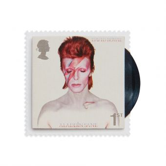 Royal Mail David Bowie First Class Stamp Book