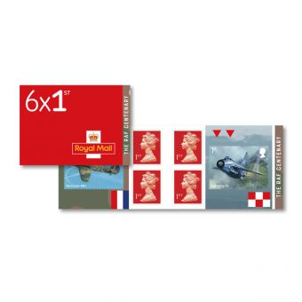 RAF Centenary Retail Stamp Book