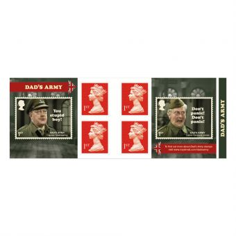 Dad's Army Retail Stamp Book