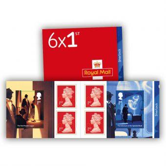 Sherlock 6 x 1st Stamp Book