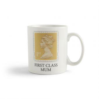 Vm041 Royal Mail Porcelain Mug First Class Mum 01