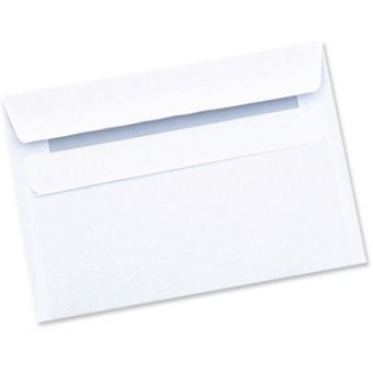 Self seal C6 White Envelopes Pack of 1000