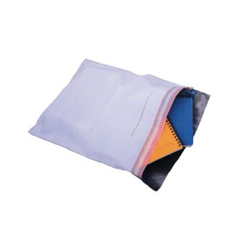 Tamper Evident White C3 Polythene Envelopes Pack of 20