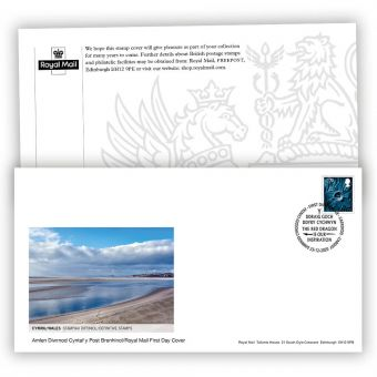 2021 Country Definitive First Day Cover - Wales with Cardiff Postmark