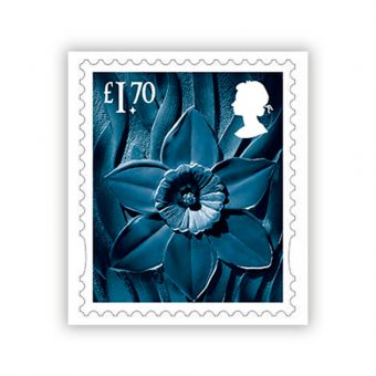 2021 Country Definitive Wales Stamp £1.70