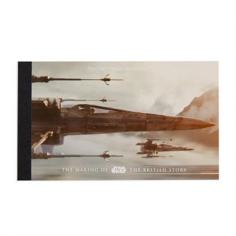 Royal Mail STAR WARS 2015 Prestige Stamp Book