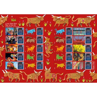 Lunar Year of the Ox Generic Sheet