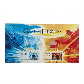 Zs050 Game Of Thrones Post And Go Stamp Set 1