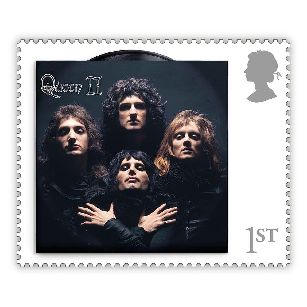 Queen reina en el correo británico