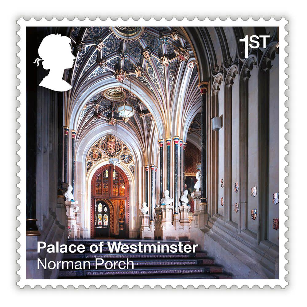 英国7月30日发行威斯敏斯特宫邮票