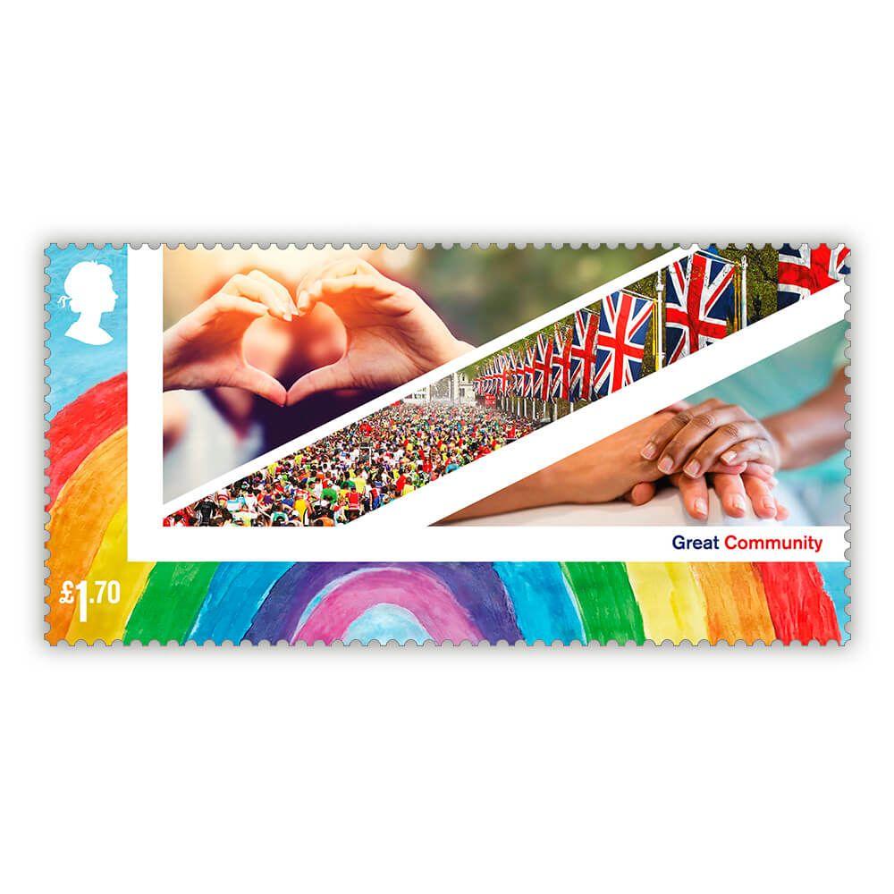 英国1月26日发行英国:庆祝活动邮票