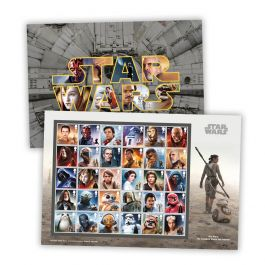 A4 Star Wars Stamp Souvenir Ultimate Edition
