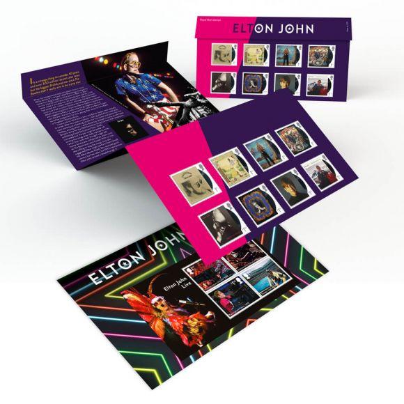 Elton John Presentation Pack