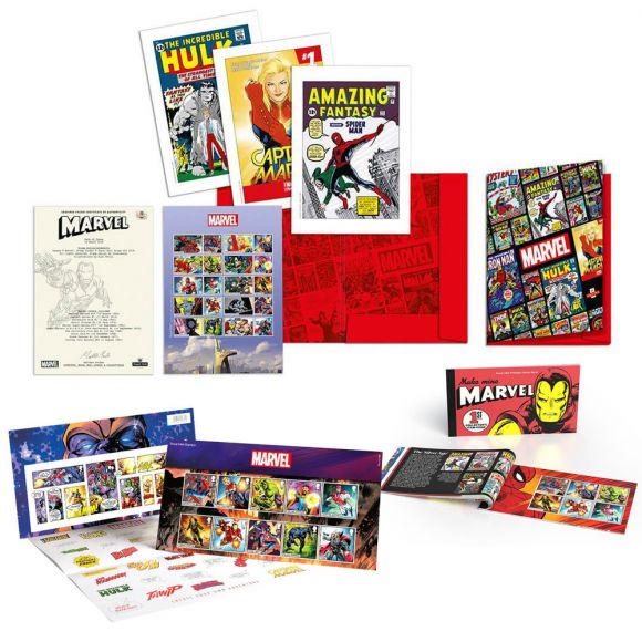 Royal Mail Marvel Bundle