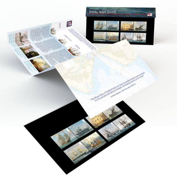 Royal Navy Ships Presentation Pack