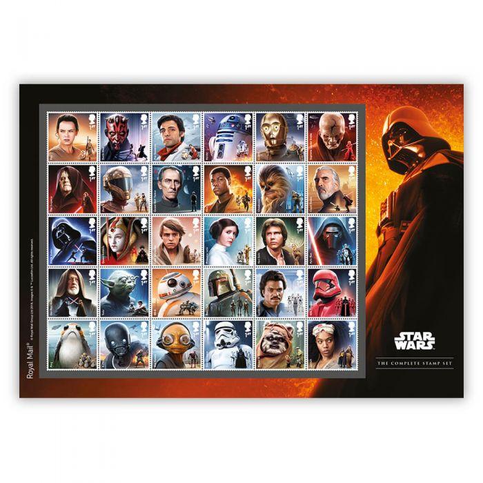Star Wars Complete Stamp Set