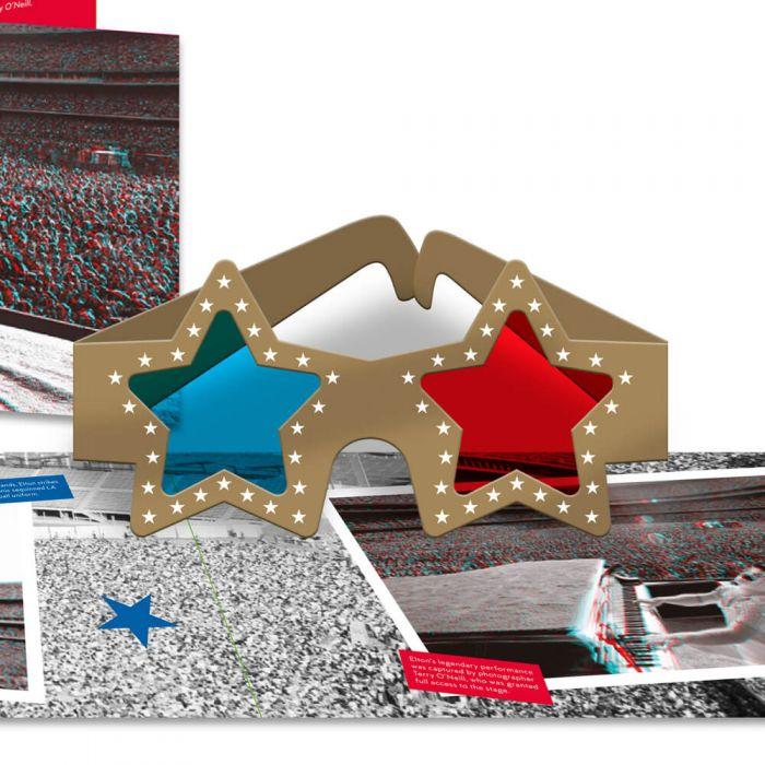 Elton John Christmas Ornament.Elton John Dodger Stadium Souvenir Pack