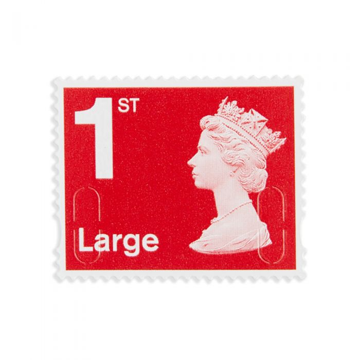 50 x Large Letter 1st Class Self Adhesive Stamp Sheet | Royal Mail