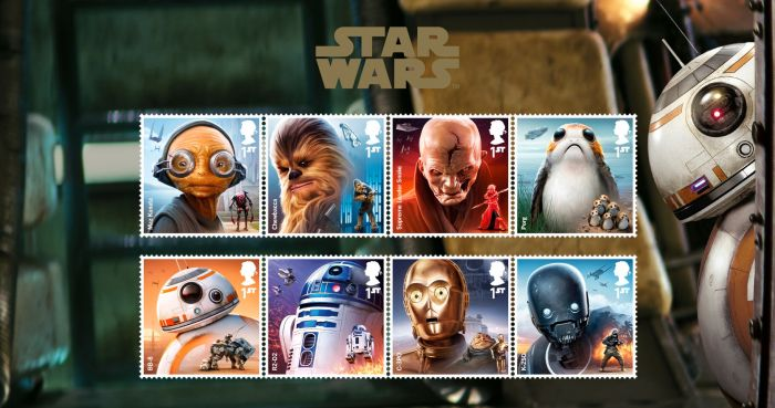 Star Wars Characters Stamp Set