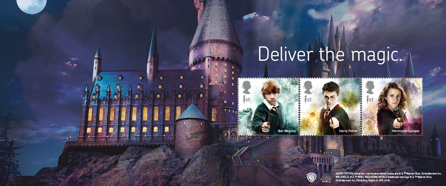 Royal Mail Harry Potter