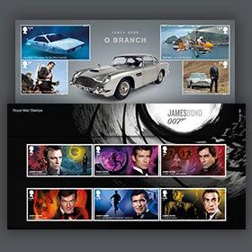 Royal Mail James Bond