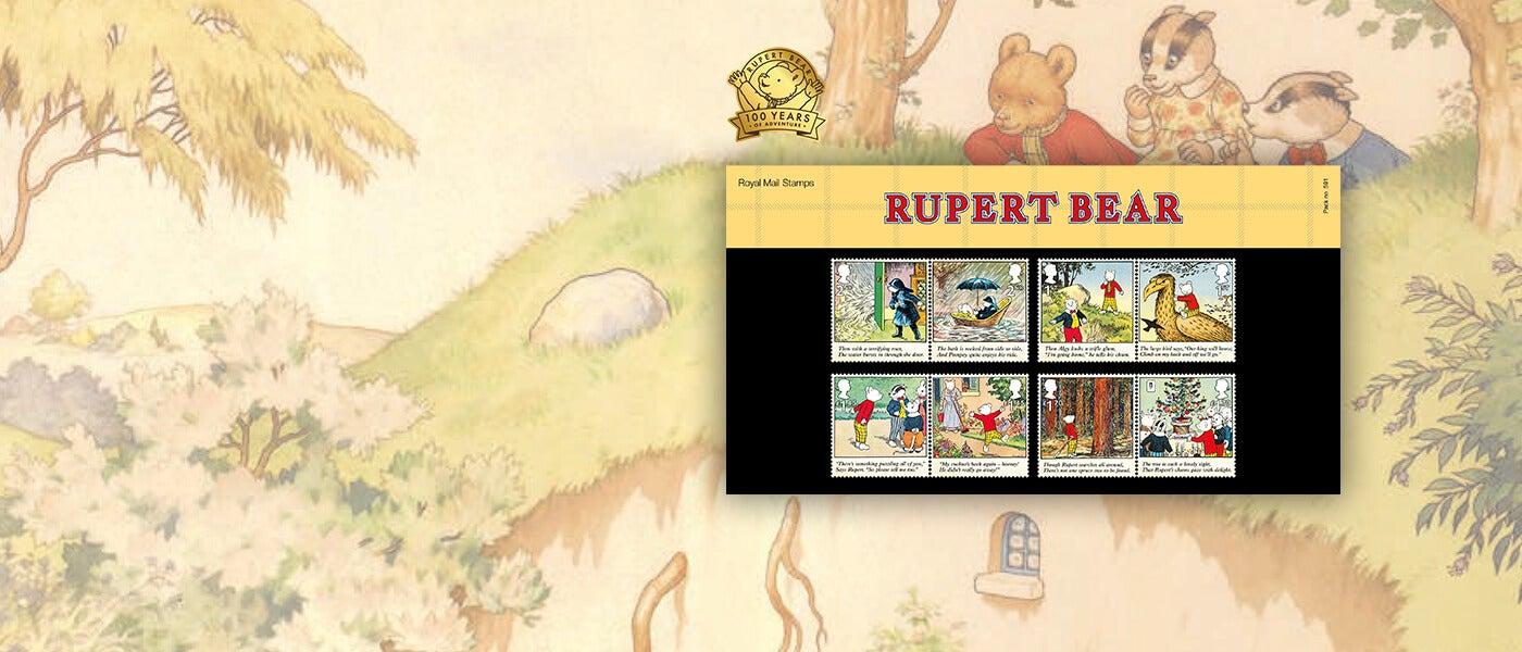 Royal Mail Rupert Bear