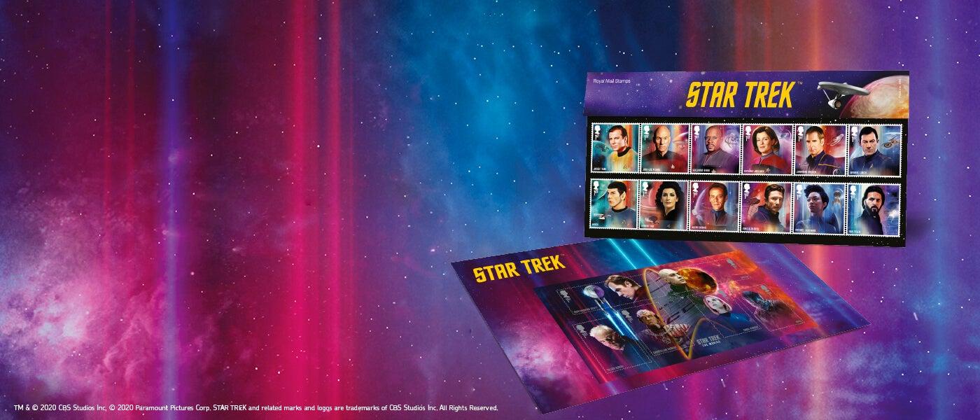 Royal Mail Star Trek