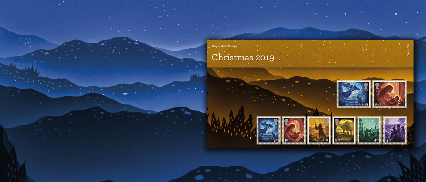 Christmas 2019 Special Stamps