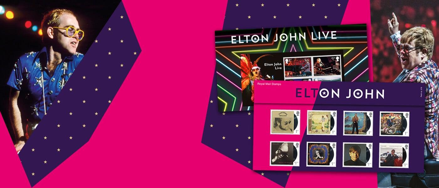 Elton John Special Stamps