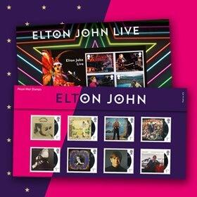 Royal Mail Elton John