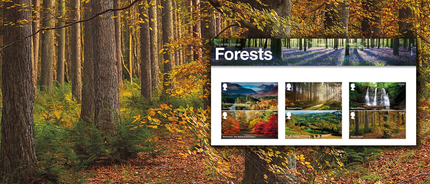 Royal Mail England Forests