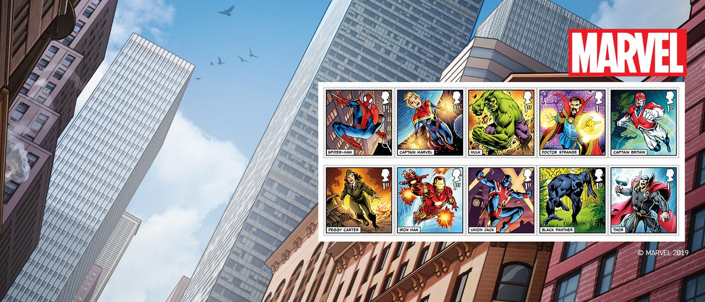 Royal Mail MARVEL Collection