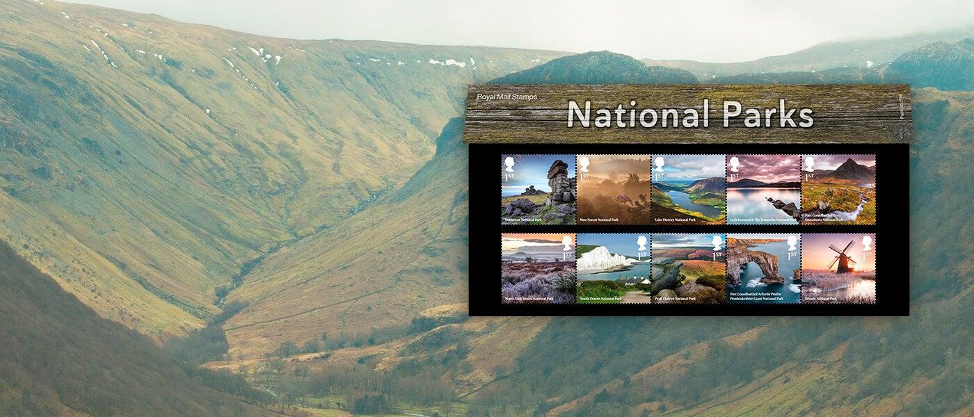 Royal Mail National Parks