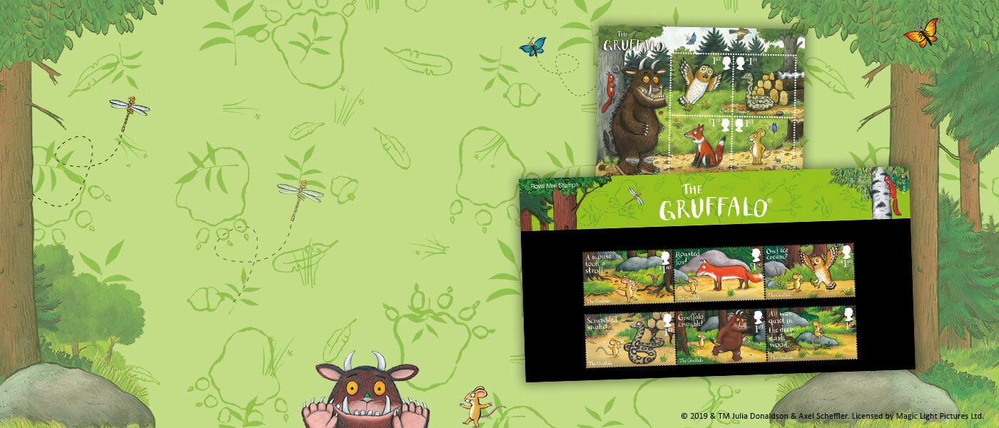 The Gruffalo Special Stamps