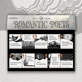 Royal Mail The Romantic Poets