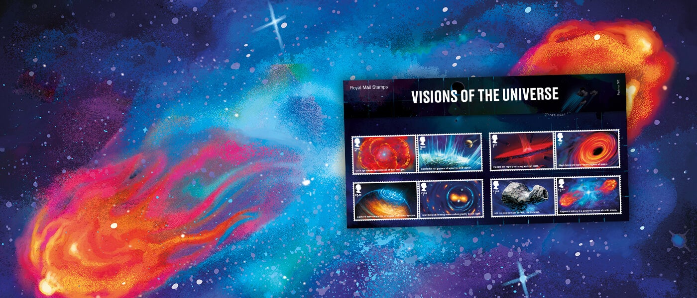 Visions of the Universe Special Stamps