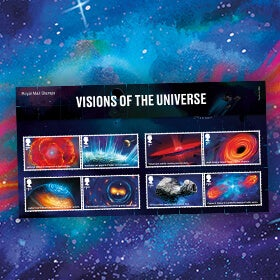 Royal Mail Visions of the Universe